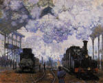 Arrival at Saint-Lazare Station