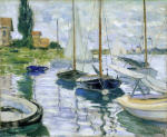 Boats at rest, Petit-Gennevilliers
