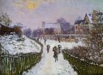 Boulevard St. Denis, Argenteuil, Snow Effect
