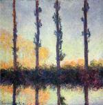 Four Poplar Trees
