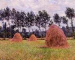 Haystacks, Overcast Day