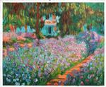 Irises in Monet's Garden 1900