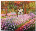 Irises in Monet's Garden