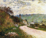 La route a Vetheuil