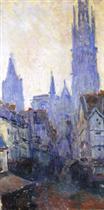 La Rue de l'Epicerie a Rouen