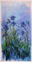 Lilac Irises