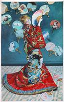 Madame Monet in Japanese Costume (La Japonaise)
