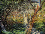 Monet's Garden at Vetheuil 1881