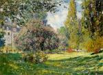 The Parc Monceau, Paris 1876