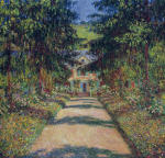 Pathway in Monet's Garden at Giverny 1900