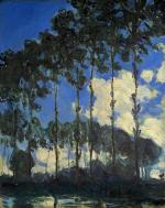 Poplars on the Bank of the River Epte