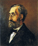 Portrait of Adolphe Monet, the Artist's Father - Rutgers