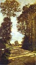 Road to the Saint-Simeon Farm