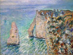 The Rock Needle and the Porte d'Aval 1886
