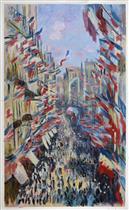 Rue Montorgueil, Paris, Festival of June 30, 1878