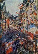Rue Saint-Denis. Festivities of 30 June. 1878