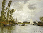The Small Arms of the Seine at Argenteuil
