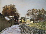 Snow at Argenteuil 1874