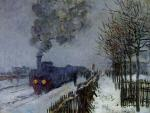 The Train in the Snow, the Locomotive