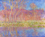 Trees along the Water, Spring in Giverny