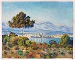 View of Antibes from the Notre-Dame Plateau