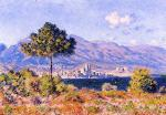 View of Antibes from the Plateau Notre-Dame