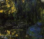 Weeping Willow and Water-Lily Pond (detail)