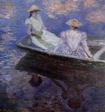 Young Girls in a Boat