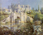 A California Water Garden At Redlands