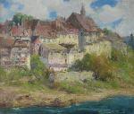 French Village Scene