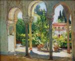 Garden Scene, Santa Barbara