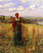 Gathering Wheat