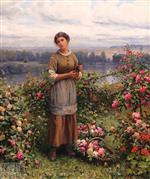 Julia Gathering Roses