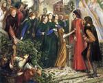 Beatrice, Meeting Dante at a Wedding Feast, Denies him her Salutation