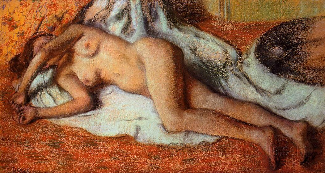 After the Bath 1885