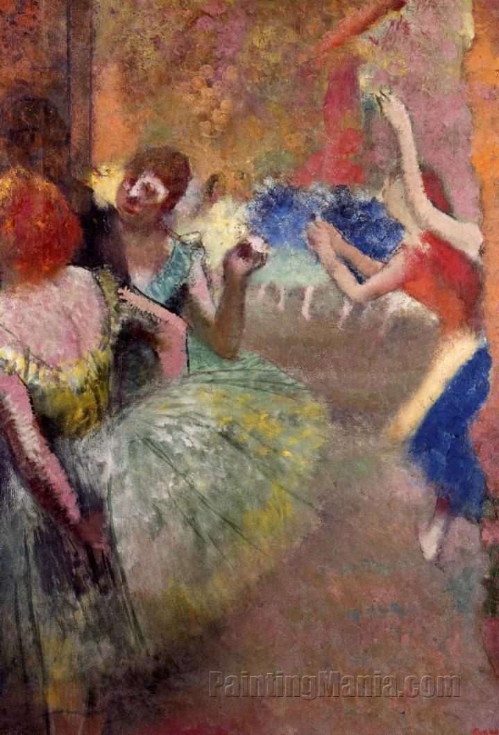Ballet Scene 1885