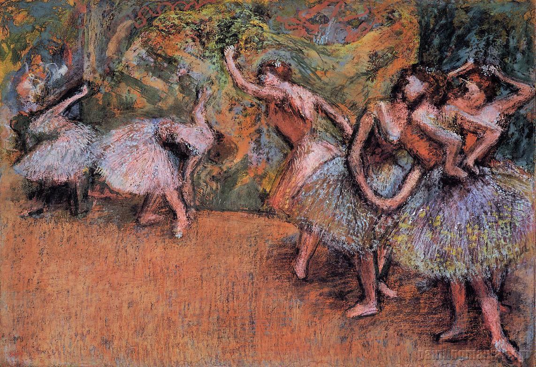 Ballet Scene 1907