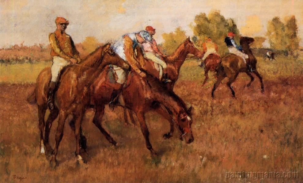 Before The Race 1882-1888