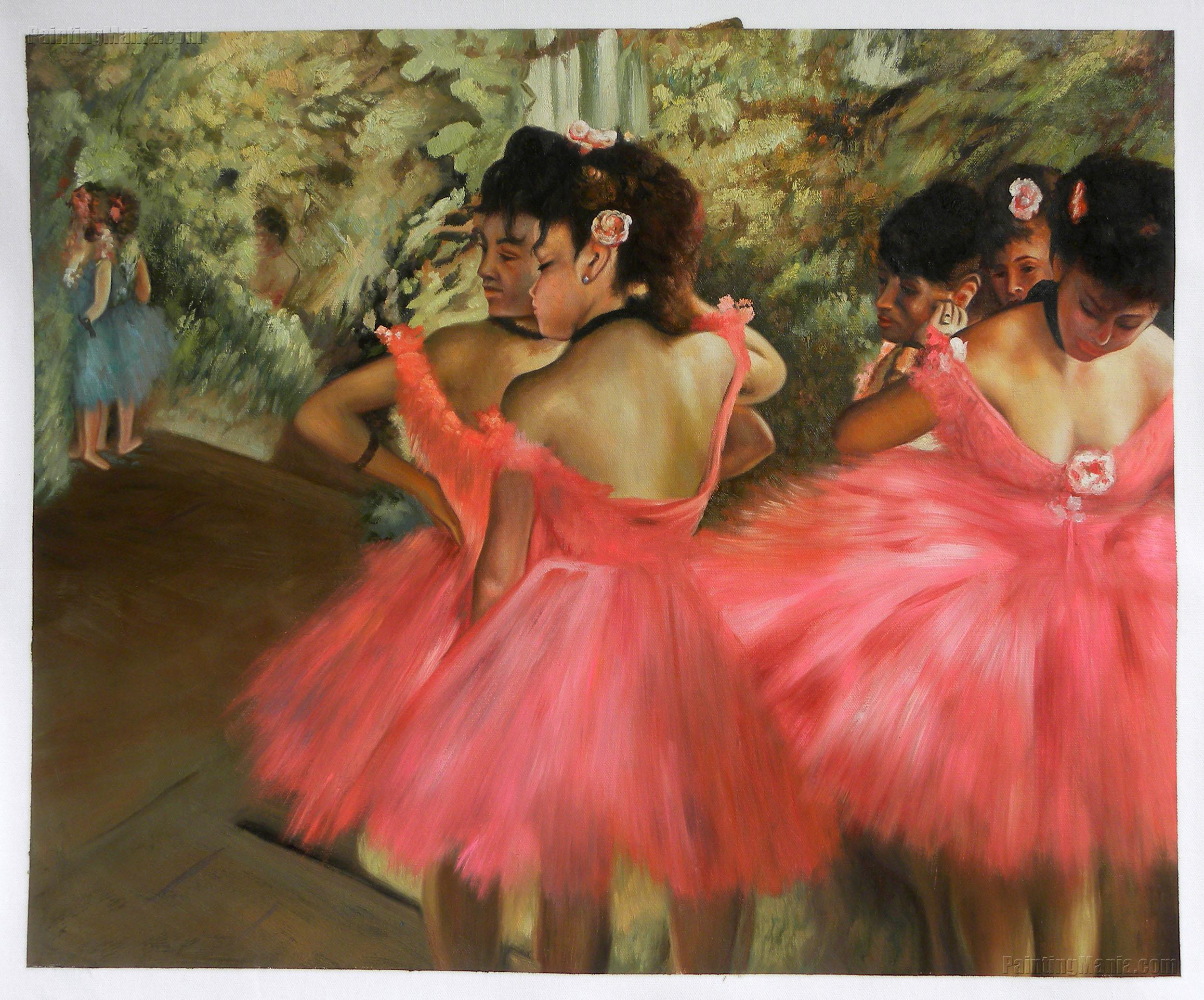 Edgar Degas Dancers In Pink | www.imgkid.com - The Image ...