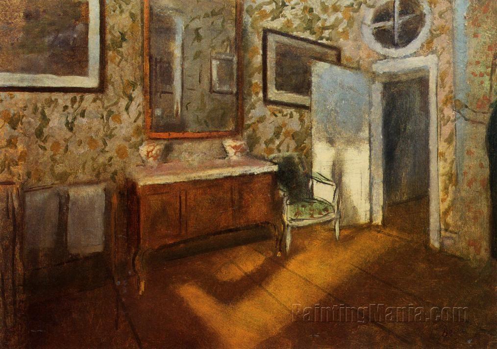 Interior at Menil-Hubert