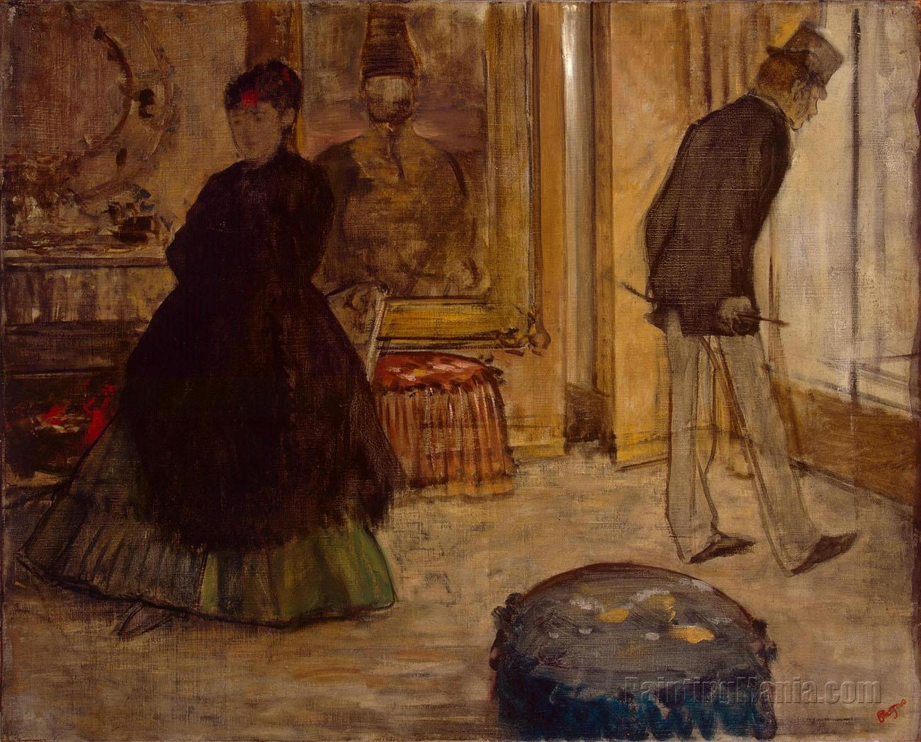 Interior with Two People