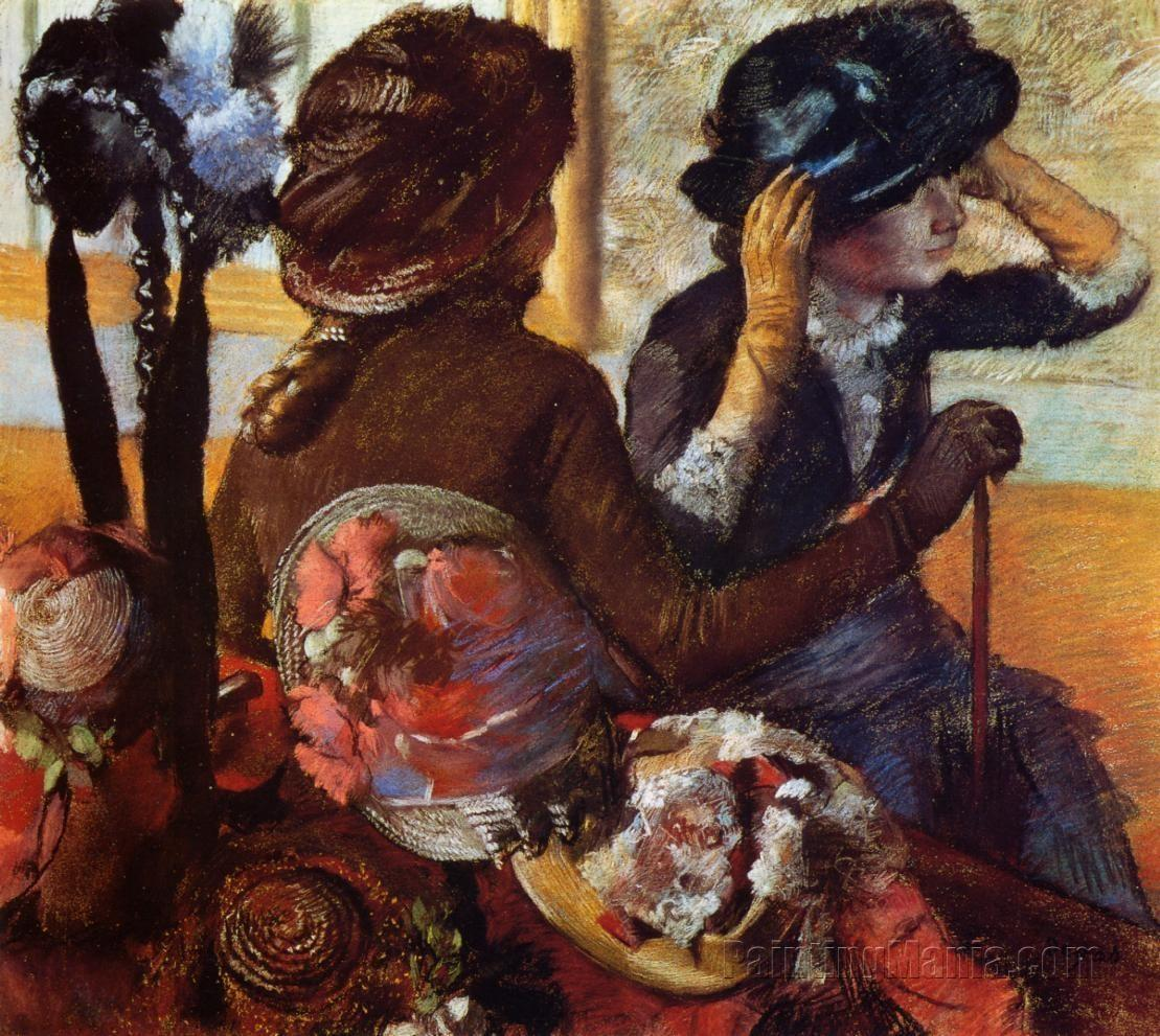 At the Milliner's 1882