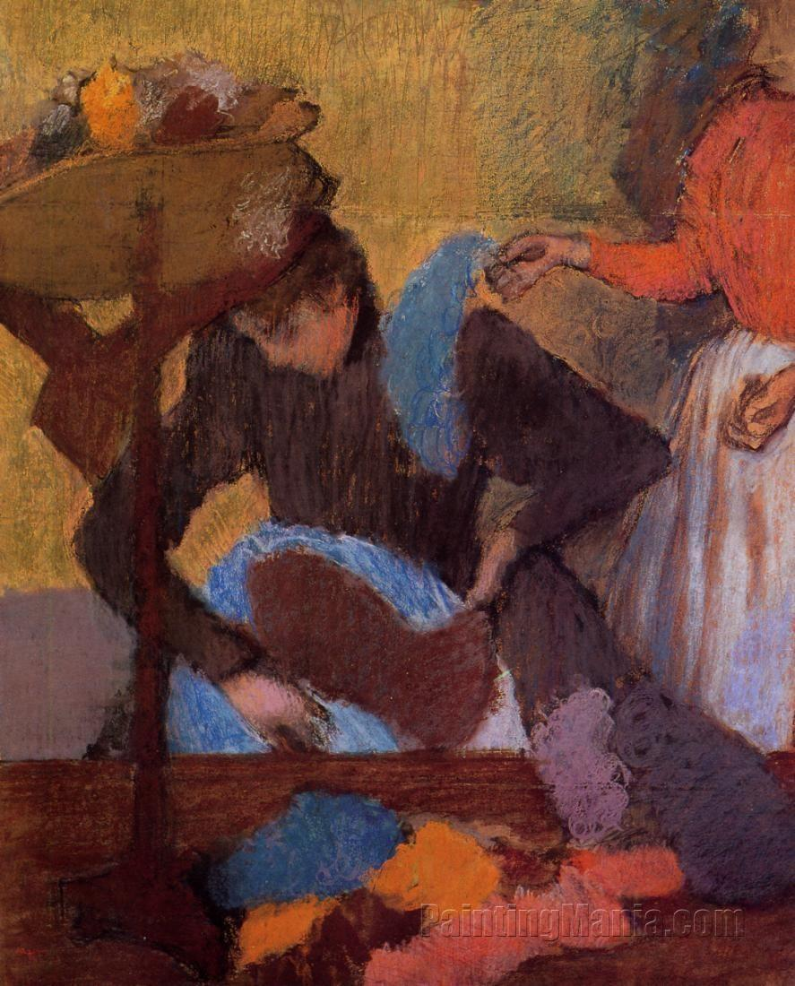 At the Milliner's 1905-1910