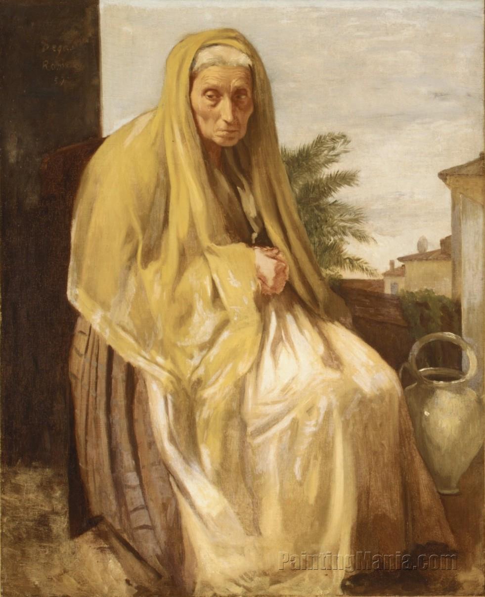 An Old Italian Woman