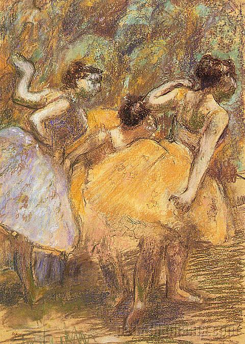Yellow Dancers II