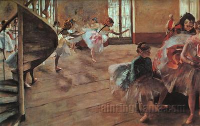 The Rehearsal 1877
