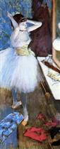 Dancer in Her Dressing Room 1879