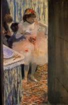 Dancer in Her Dressing Room 1880