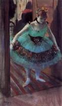 Dancer Leaving Her Dressing Room