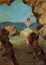 Dancer on Stage 1890